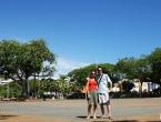 Place des cocotiers.