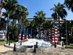 Monument en l'honneur des Américains pendant la guerre du Pacifique.