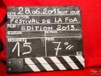 Cérémonie de clôture du Festival du Cinéma de La Foa