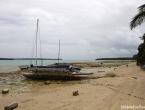 Baie de Saint Joseph et pirogues traditionnelles