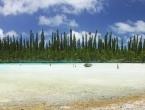 Piscine naturelle dans la baie d'Oro