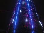 Illuminations du sapin géant.