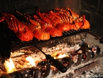 Langoustes au feu de bois au Fene Paza !