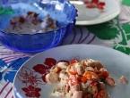 Salade de poulpes !