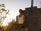 Coucher de soleil sur Maré