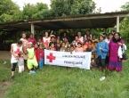 Squat de Sakamoto avec la Croix-Rouge Française