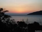 Coucher de soleil à Golone