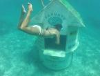Le bureau de poste sous marin !