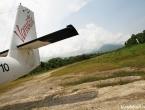 L'avion et la piste d'atterrissage !