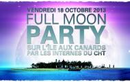 Full Moon Party sur l'Île aux Canards !